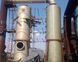 甘肅某工業磚廠窯爐脫硫塔